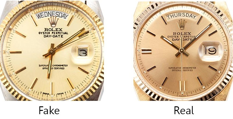 Is My Rolex Real or Fake? Part 1 How to Spot a Fake Rolex