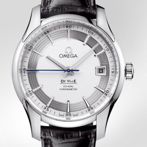 omega-de-ville-hour-vision-watch-steel-silver-dial