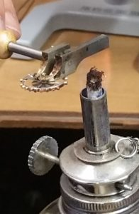 replacing a roller jewel